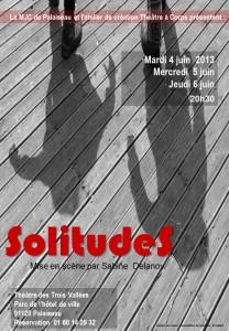 affiche solitude 2013